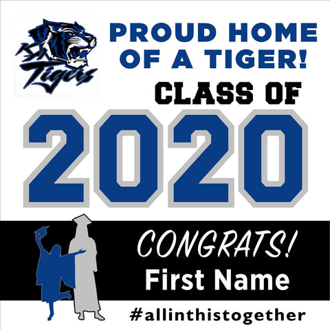Kingman Academy of Learning High School 24x24 Class of 2020 Yard Sign (Option A)