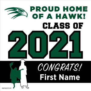 Liberty Ranch High School 24x24 Class of 2020 Yard Sign (Option A)