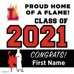 Lodi High School 24x24 Class of 2021 Yard Sign (Option A)