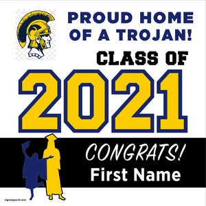 Milpitas High School 24x24 Class of 2021 Yard Sign (Option A)