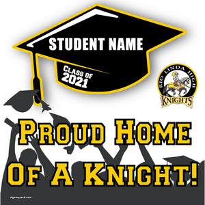 Rio Linda High School 24x24 Class of 2021 Yard Sign (Option B)
