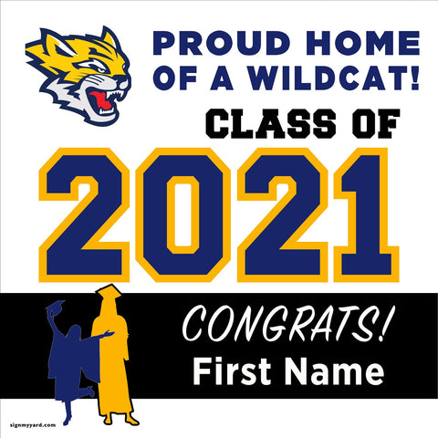 Sunnyside High School 24x24 Class of 2021 Yard Sign (Option A)
