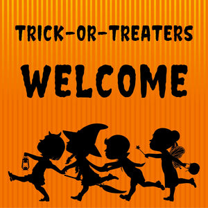 24x24 Halloween Yard Sign with Stake Option F (Includes installation in our coverage area)