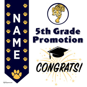 Willow Glen Elementary School 5th Grade Promotion 24x24 Yard Sign (Option B)