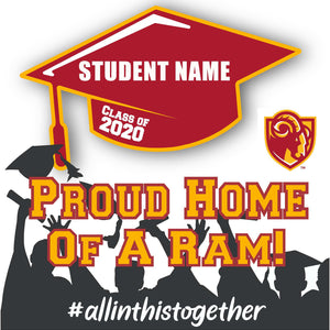 Willow Glen High School 24x24 Class of 2020 Yard Sign (Option B)