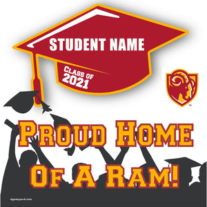 Willow Glen High School 24x24 Class of 2021 Yard Sign (Option B)
