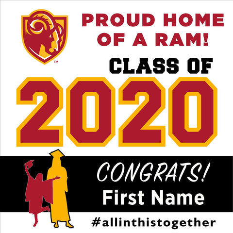 Willow Glen High School 24x24 Class of 2020 Yard Sign (Option A)