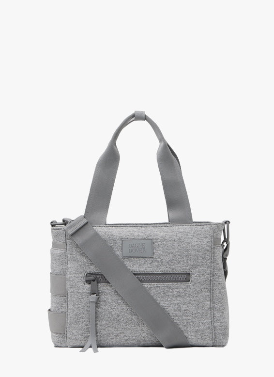 Wade Diaper Tote in Heather Grey Small