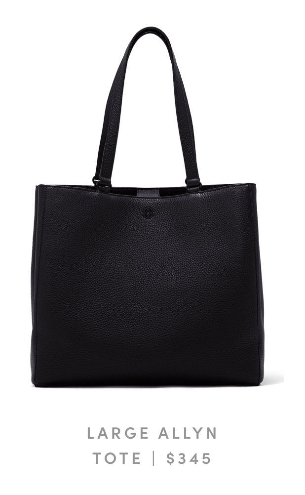 Large Allyn Tote Onyx