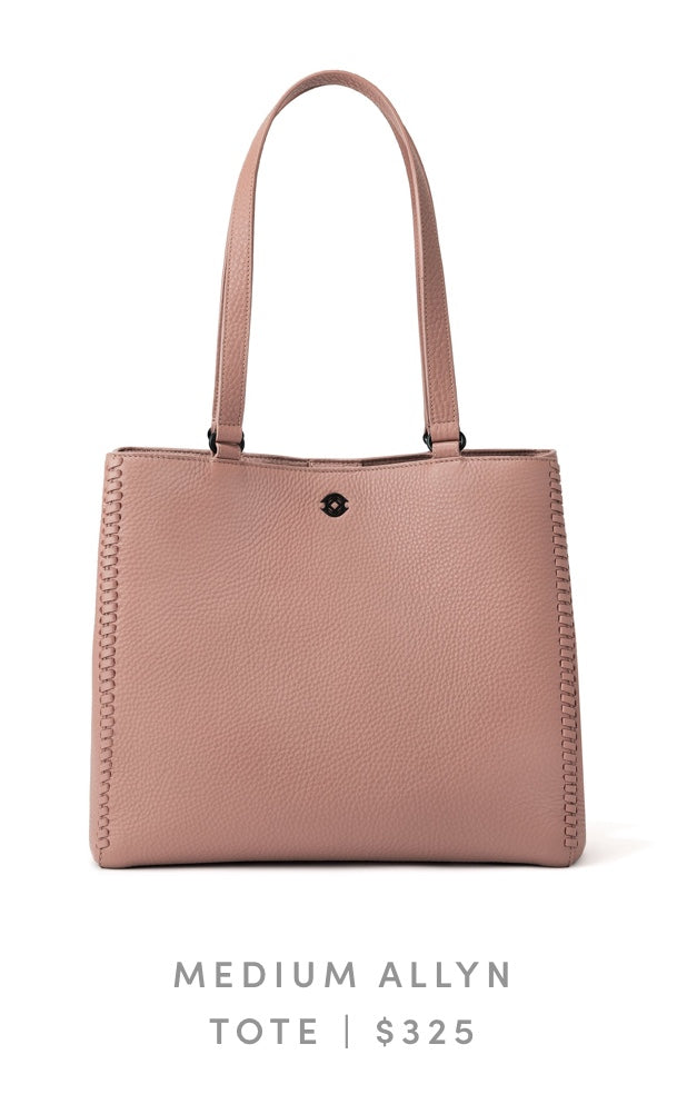 Medium Allyn Tote Warm Dust