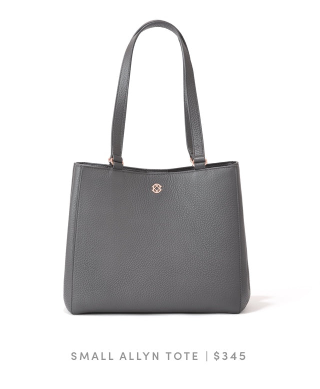 Small Allyn Tote Graphite