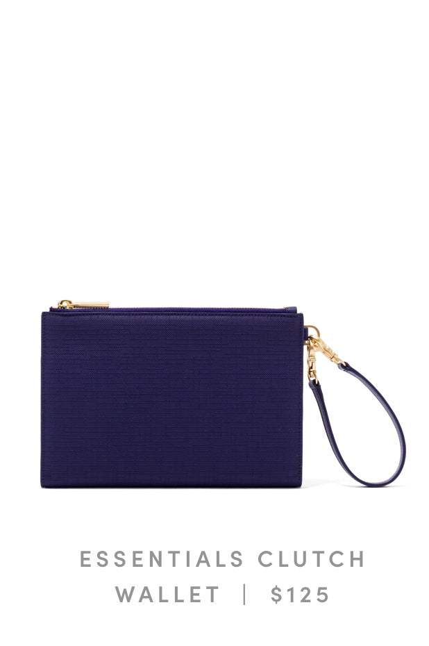 Essentials Clutch Wallet Storm