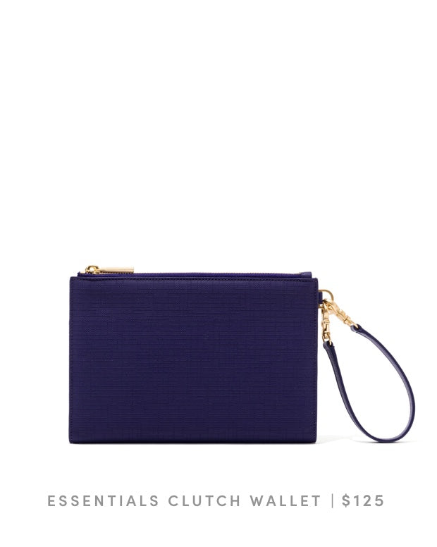 Essentials Clutch Wallet Dagne Blue