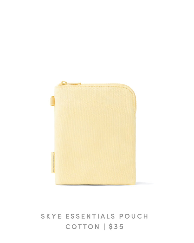 Skye Essentials Pouch Cotton - Pollen