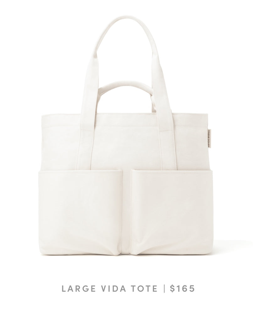 Large Vida Tote - Natural
