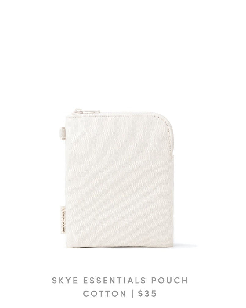Skye Essentials Pouch Cotton - Natural