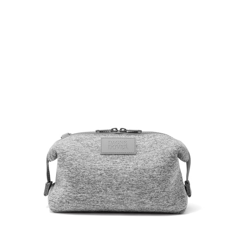 Hunter Toiletry Bag in Heather Grey, Large
