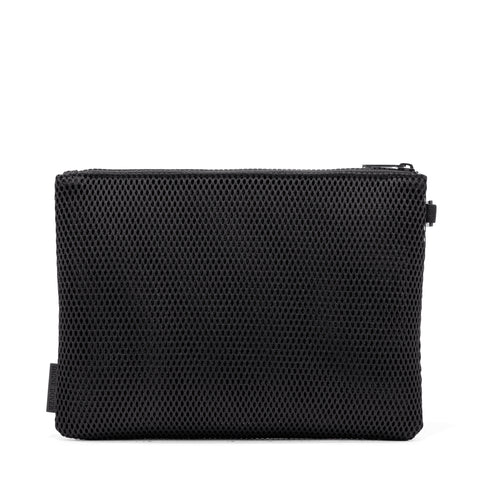 Parker Airmesh Pouch in Onyx, Large