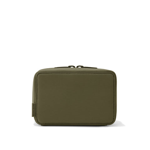 Arlo Tech Pouch in Dark Moss, Large