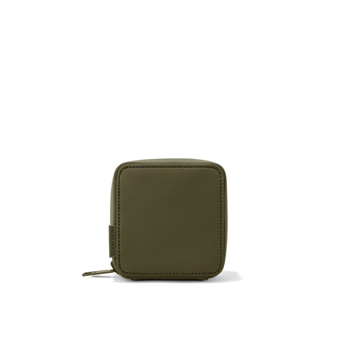 Arlo Tech Pouch in Dark Moss, Small