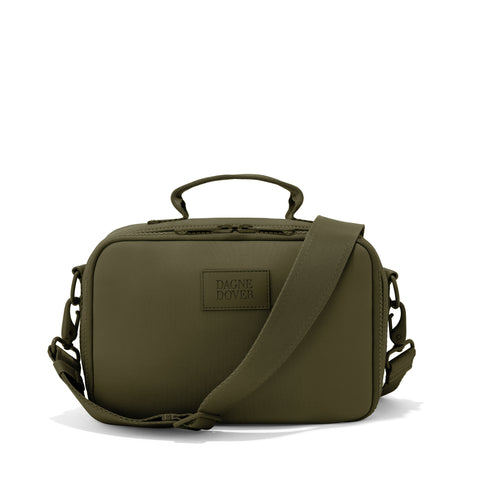 Axel Lunch Box in Dark Moss, Large