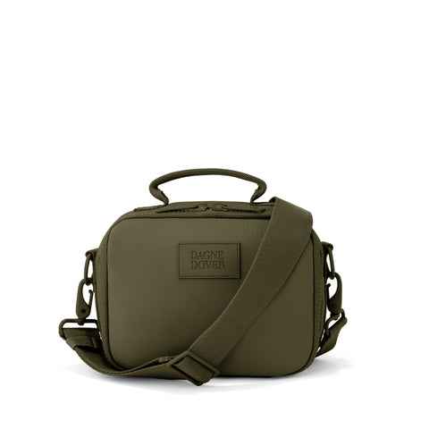 Axel Lunch Box in Dark Moss, Small