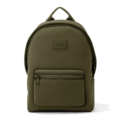 Dakota Backpack in Dark Moss, Medium