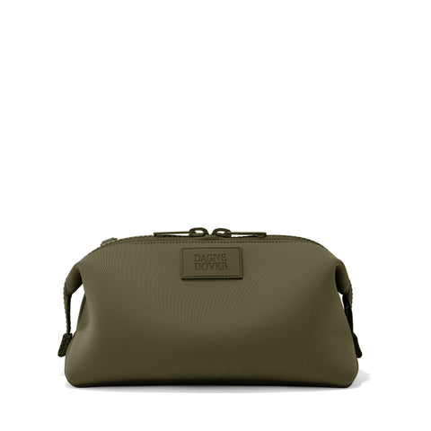 Hunter Toiletry Bag in Dark Moss, Extra Large