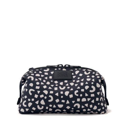 Hunter Toiletry Bag in Block Party Print, Extra Large
