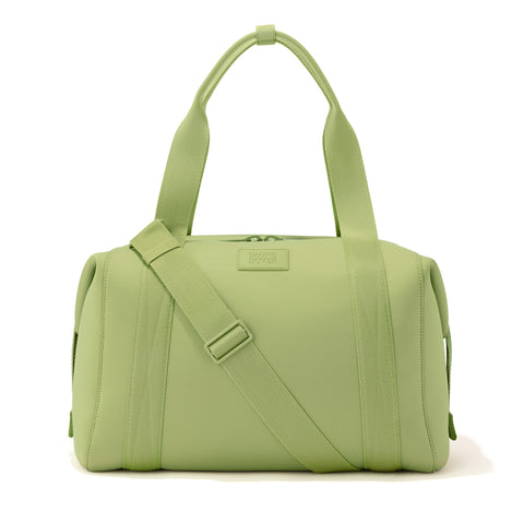Landon Carryall in Lime, Large