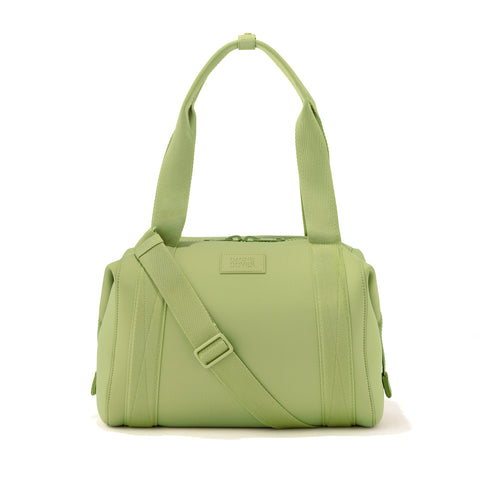 Landon Carryall in Lime, Medium