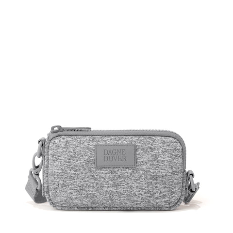 Mara Phone Sling in Heather Grey