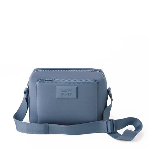 Micah Crossbody in Ash Blue