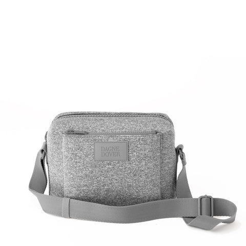 Micah Crossbody in Heather Grey