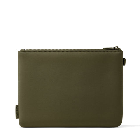 Scout Pouch in Dark Moss, Large