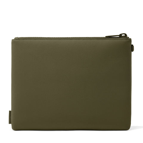 Scout Pouch in Dark Moss, Extra Large