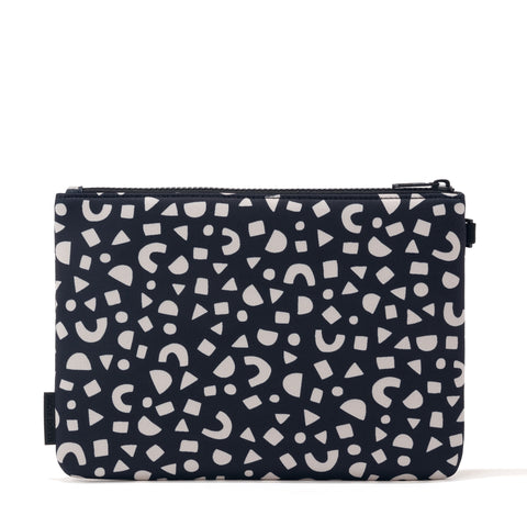 Scout Pouch in Block Party Print, Large