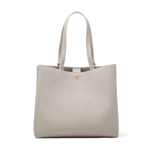 Allyn Tote - Bone - Large