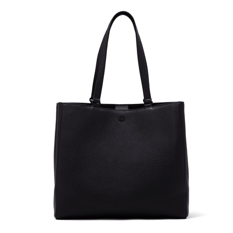 Allyn Tote in Onyx, Large