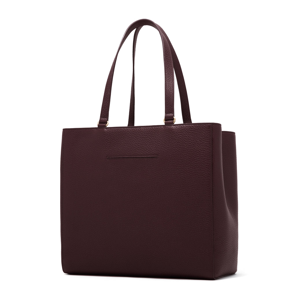 db4d70b8e826e Allyn Tote – Leather Work Bag   Laptop Tote Bag by Dagne Dover ...