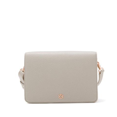 Andra Crossbody in Bone, Medium
