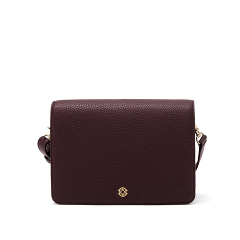 Andra Crossbody - Oxblood - Medium
