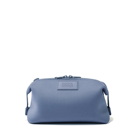 Hunter Toiletry Bag in Ash Blue, Large