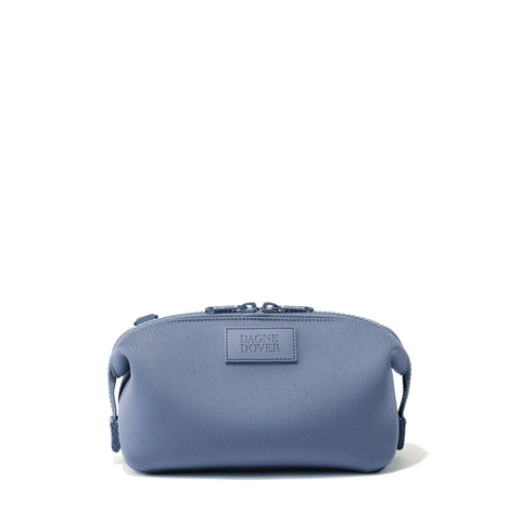 Hunter Toiletry Bag in Ash Blue, Small