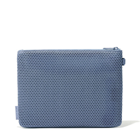 Parker Pouch in Ash Blue, Large
