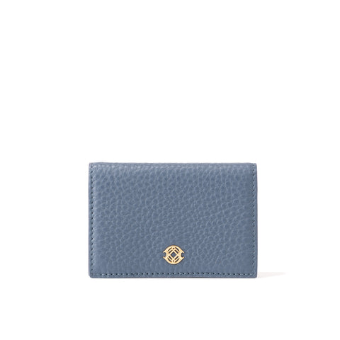 Accordion Card Case - Ash Blue