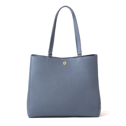 Allyn Tote in Ash Blue, Large