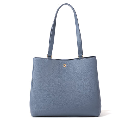 Allyn Tote in Ash Blue, Medium