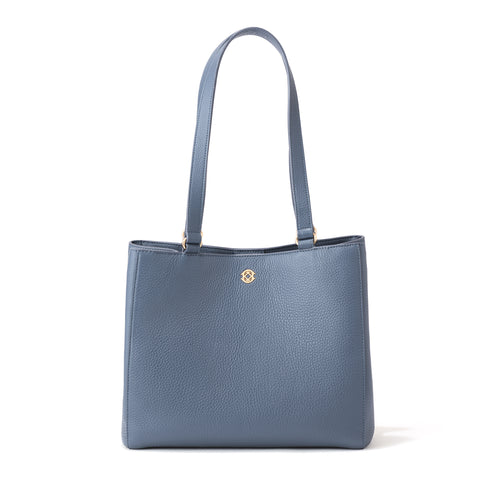 Allyn Tote in Ash Blue, Small