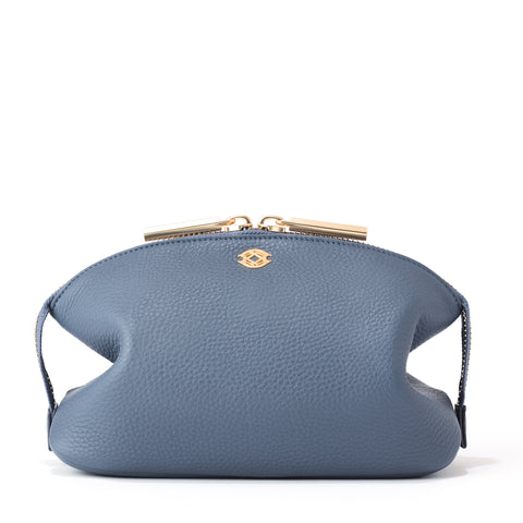 Lola Pouch in Ash Blue, Large